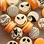 nightmare before christmas french macarons
