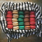 Colorful French Macarons // DelectableBakeHouse.com