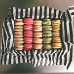 Box of Colorful French Macarons // DelectableBakeHouse.com
