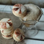 Rootbeer Float French Macarons // DelectableBakeHouse.com
