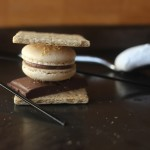 S'mores French Macarons // DelectableBakeHouse.com