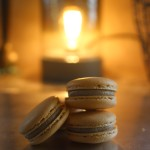 Pumpkin Spice French Macarons // DelectableBakeHouse.com