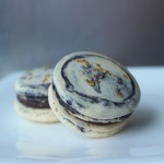 Marbled French Macarons // DelectableBakeHouse.com