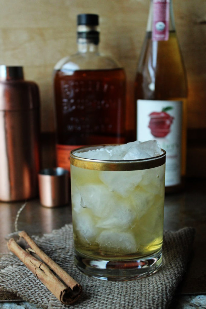 Bourbon Ginger Cider Cocktail