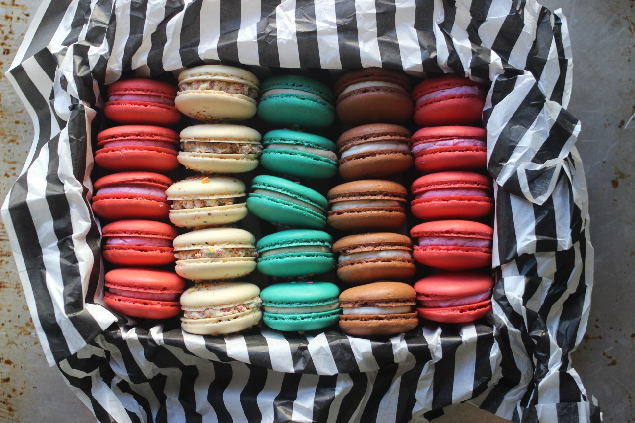 Check out this weeks flavors order online delectable order online box of french macarons urmus Image collections